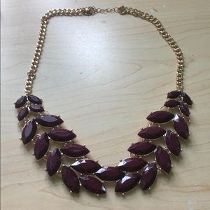 Jewelry - Red leaf necklace